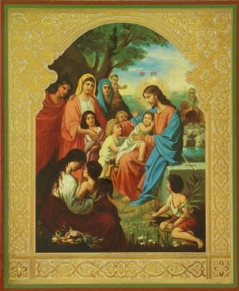 Молитва на благословение ребенка