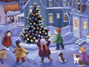 Новогодние детские песни
