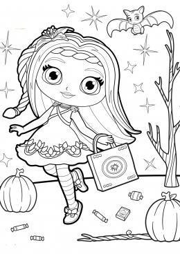 литл чалмерс раскраски раскраска литтл чармерс для девочек