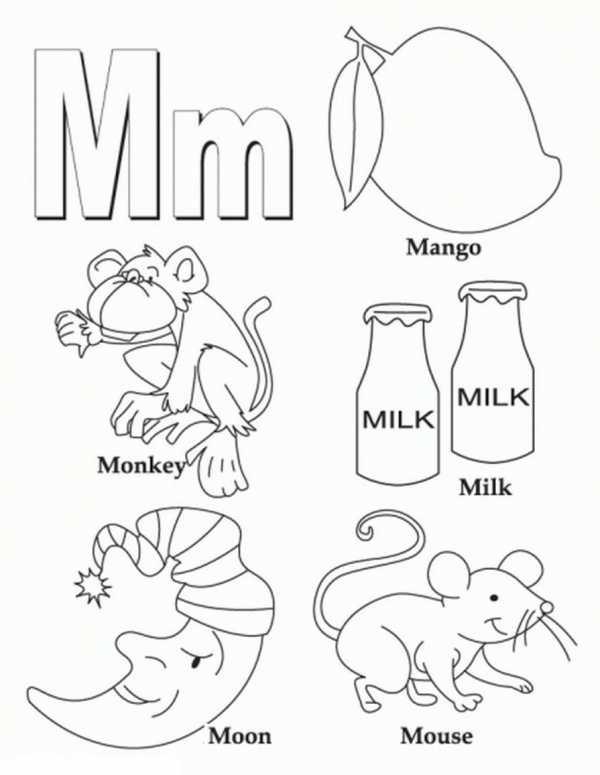 английский алфавит раскраска в картинках английский