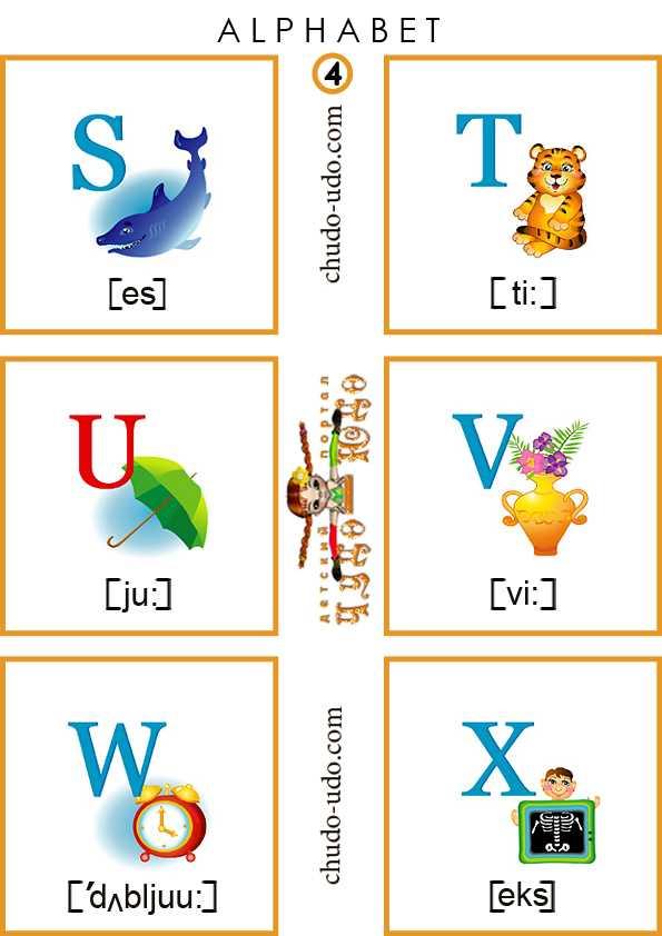 Карточки алфавитные по английскому языку – Карточки ...