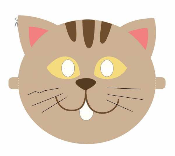 Маски для детей распечатать – Маски животных из бумаги ...