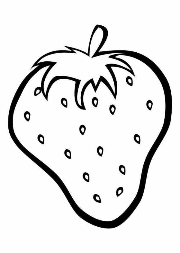 Раскраски для детей фрукты – Раскраски Фрукты и Овощи для ...