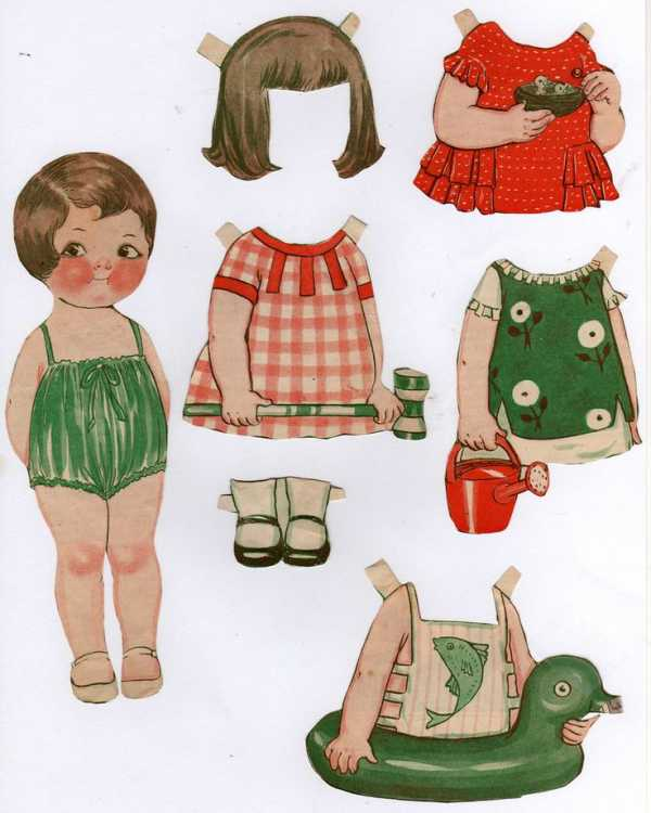 paper dolls - 511×640